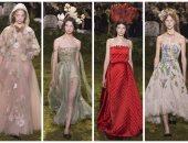 بالصور.. المجموعة الكاملة لأزياء Christian Dior بأسبوع الموضة بباريس