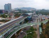 بالصور.. حكومة الصين تنفذ أول طريق سريع للدراجات