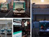باريس تختبر حافلات كهربائية بدون سائق لمواجهة الازدحام والثلوث
