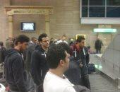 بعثة منتخب اليد تصل القاهرة بعد خروجها من دور الـ16 بكأس العالم