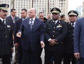 بالصور.. مدير أمن القاهرة يتفقد ميدان التحرير قبل احتفالات يناير وعيد الشرطة