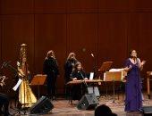 فرقة بنات النيل للموسيقى والغناء تتألق فى أثينا