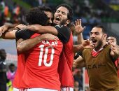روما يهنئ محمد صلاح بعد إحرازه الهدف الأول فى شباك غانا