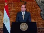 بالفيديو..السيسى: ثورة 25 يناير عبرت عن رغبة المصريين فى التغيير