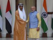 محمد بن زايد: منح رئيس الوزراء الهندى وسام زايد تقديرا لجهوده
