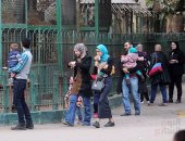 إقبال كبير من المواطنين على حديقة الحيوان ودريم بارك والفسطاط