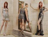 """أحدث مجموعات دار أزياء """"Versace""""..  مستوحاة من الموضة الرومانية"""