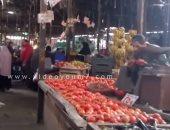 """بالفيديو.. لو عايزة تشترى """"رخيص"""" روحى سوق المطرية """"القوطة بجنيه"""""""