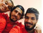 """لاعبو منتخب مصر يحتفلون بالفوز على غانا عبر """"إنستجرام"""""""