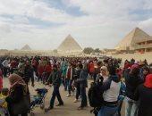 مدير آثار الهرم: ارتفاع معدلات الزيارة بالمنطقة بشرة خير لعودة السياحة