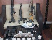 ضبط 4 قطع سلاح ناري وتنفيذ 2850 حكم وفحص 80 شقة مفروشة  بالشرقية