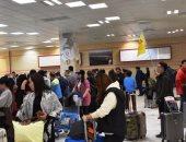 مطار أسوان الدولى يستقبل 260 سائحاً قادمين شارتر من الصين