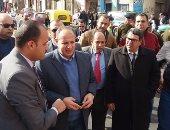 محافظ البحيرة يتفقد مشروعات خدمية بمدينة الرحمانية