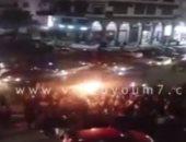 """المصريون يحتفلون بصعود منتخب مصر لنهائى """"أمم إفريقيا"""" فى شوارع الدقى"""
