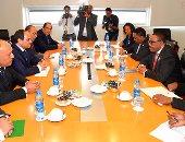 ننشر البيان المشترك بين مصر وإثيوبيا حول مباحثات السيسى وديسالين