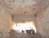"""بالصور.. """"الآثار"""" تعلن عن كشف مقبرة جديدة بالأقصر"""