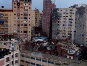 قارئ من محرم بك بمحافظة الإسكندرية يستغيث من ظاهرة المبانى المخالفة