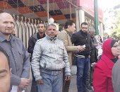 وقفة احتجاجية لأهالى المنيا للمطالبة بتسليم الوحدات السكنية