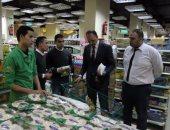 بالصور.. الرقابة الإدارية تحرر محضرين فى حملة على المحلات الغذائية بالسيدة زينب