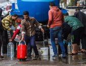 أهالى منطقة الطوابق فى شارع فيصل يتضررون من انقطاع المياه