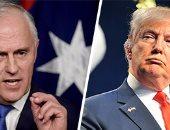 ترامب يستقبل رئيس الوزراء الأسترالى فى 4 مايو المقبل
