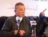 بالصور.. محمود حميدة: الفن غير قادر على التغيير ووظيفته التسلية فقط
