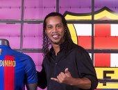رونالدينيو يكشف دور برشلونة فى تطوير كرة القدم الصينية