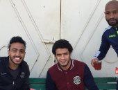 """محمود كهربا ينشر صورة بصحبة شيكابالا وعمر جابر ويعلق: """"من أحلى الأيام"""""""