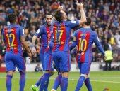 بالفيديو.. برشلونة يتفوق على بلباو بثنائية فى الشوط الأول لليجا