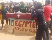 """الجماهير الكاميرونية تتوعد الفراعنة بـ""""نعش الموتى"""""""