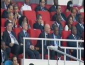 بالفيديو.. إنفانيتنو يحضر نهائى أمم أفريقيا بين مصر والكاميرون