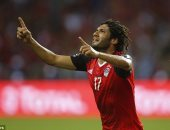 فرانس فوتبول: محمد الننى أفضل لاعبى مصر أمام الكاميرون