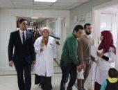 الرقابة الإدارية تكشف تعطل مغسلة وتهالك أسرة مستشفى المنشاوى بطنطا