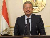 جلسة ثلاثية بين وزير الرياضة وأبو ريدة ومحافظ بورسعيد