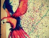 """قارئة تشارك """"اليوم السابع"""" بصور للوحاتها الفنية"""