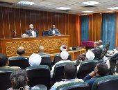 محافظ أسوان يستمع لمطالب ومقترحات أهالى النوبة