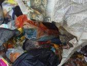 قارئ يرسل صورة لطفلة ملقاة فى القمامة بالزاوية الحمراء