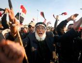 بالصور.. مظاهرة للتيار الصدرى وسط بغداد تطالب بتغيير مفوضية الانتخابات