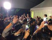 بالفيديو والصور.. الزمالك يغادر ملعب مباراة السوبر