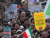 عشرات الآلاف يحيون ذكرى الثورة الإيرانية فى طهران