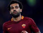 محمد صلاح يغادر مباراة روما وإنتر ميلان وبيروتى بديلاً له