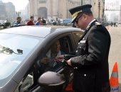 """حملة """"الانضباط أسلوب حياة""""  تزيل مخالفات الباعة الجائلين بميدان رمسيس"""