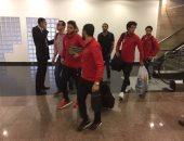 بعثة الأهلى تغادر القاهرة فى طريقها لتونس لملاقاة فريق الترجى