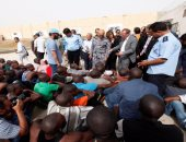 تراجع عدد المهاجرين الليبيين المحتجزين فى بنغازى