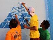 """بالصور.. المجلس القومى للمرأة ينظم أولى فعاليات مهرجان """"أسوان بالألوان"""""""