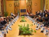 سامح شكرى يبحث مع السفراء الأفارقة القضايا الإقليمية ذات الاهتمام المشترك