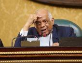"""بالصور.. رئيس البرلمان يطالب الحكومة بتوفير سبل الرعاية لأسر """"أقباط العريش"""""""
