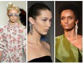 بالصور.. أرقى الإكسسوارات ونظارات الشمس بعروض أزياء أسبوع الموضة بنيويورك
