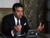 وزير التعليم العالى يلتقى عددا من طلاب العريش المتضررين لحل مشكلاتهم