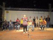 بالصور.. كورال الطور يفتتح العرض التجريبى للقافلة الثقافية بجنوب سيناء